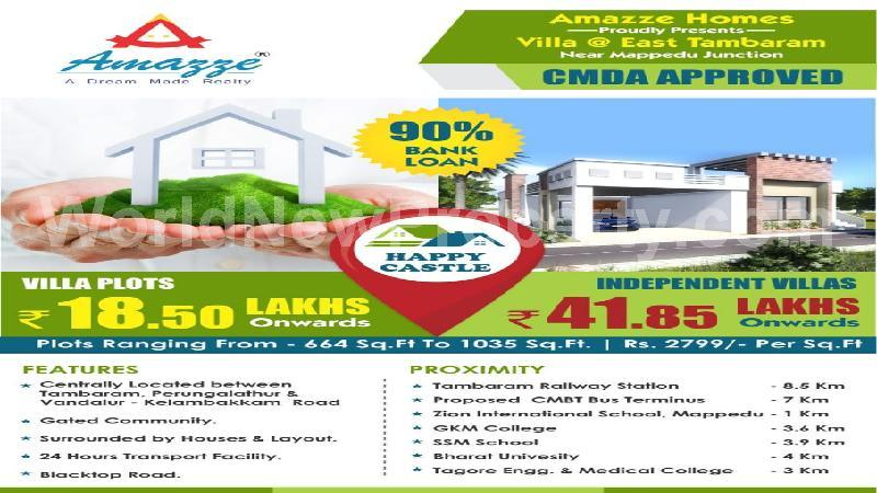 property near by Tambaram East, R. Jagannathan real estate Tambaram East, Land-Plots for Sell in Tambaram East